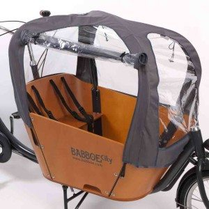 Cargo Bike for sale - Babboe City Raintent